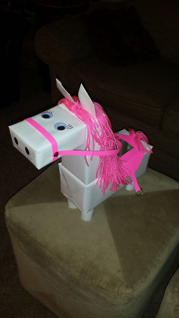 Ideas For Decorating Valentine Box Life In The Thrifty Lane Horse Valentines Box  Holiday Ideas