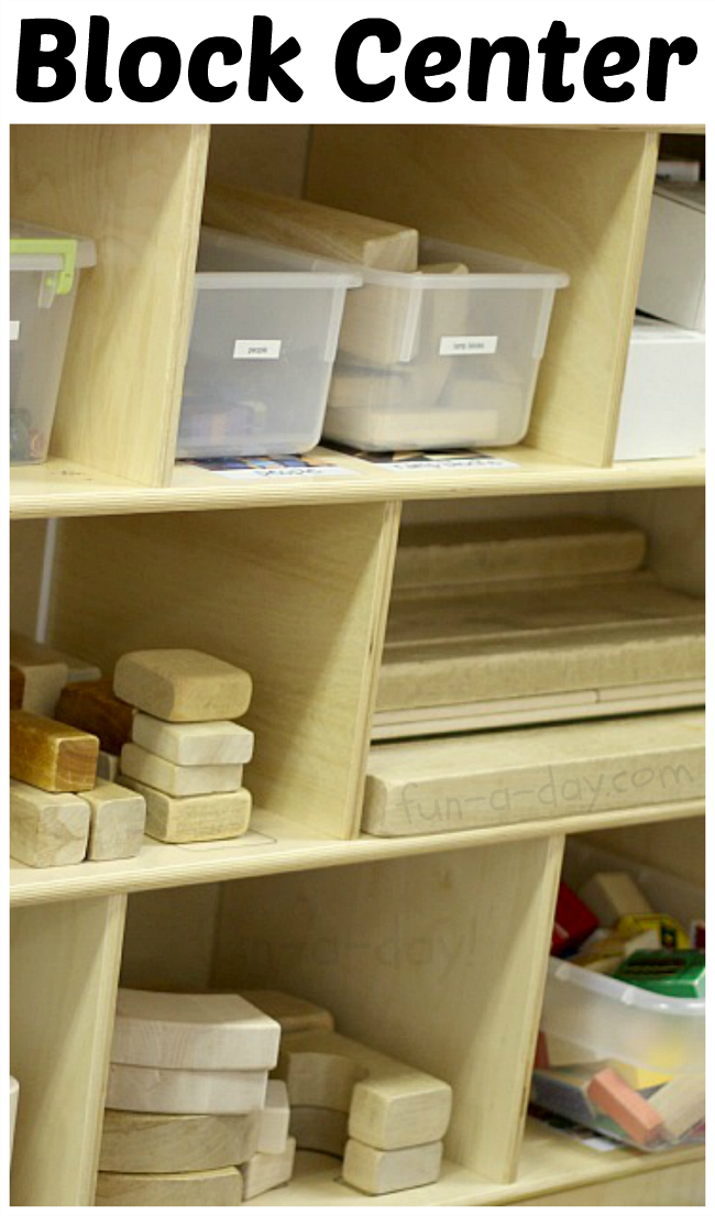 How to Stock and Organize the Preschool Block Center | Sea ...