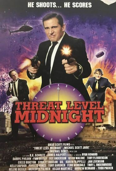 Geng threat level midnight Poster Poster by gracedainslie