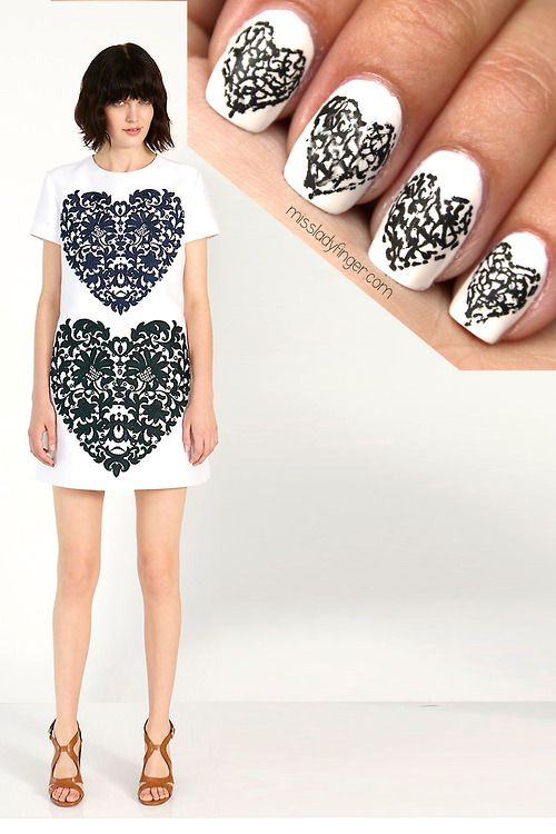MANICURE MUSE: Stella McCartney Resort '14  All you need is love… and Stella Resort Ladyfingers.