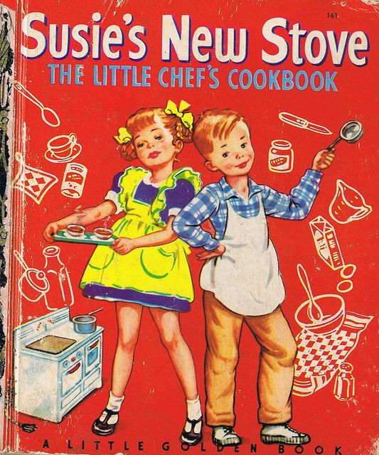 SUSIE'S NEW STOVE, Little Golden Book, Four colour back | Flickr - Photo Sharing!
