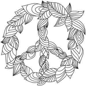 Green Peace design (UTH1702) from UrbanThreads.com 5.87