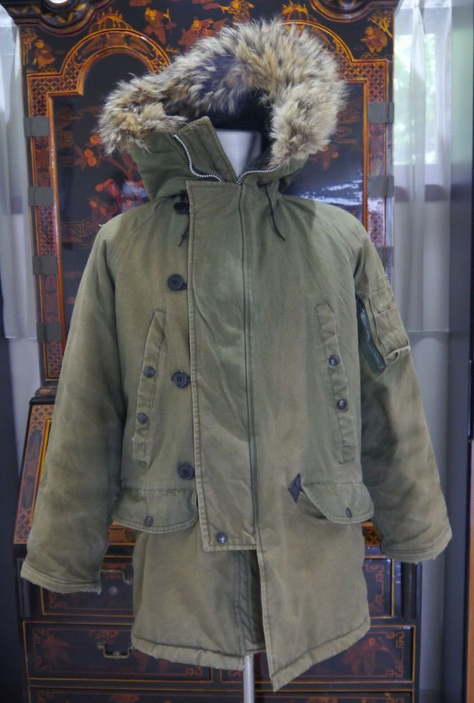 06dc55e9ec0 SPIEWAK & SONS N-3B Hood Snorkel Parka Extreme Cold Weather MILITARY ...