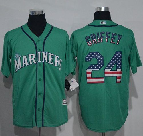 low priced 71a88 6a2c1 For Stitched 21815 Coupon Green Fashion Jersey Flag Usa Mlb ...