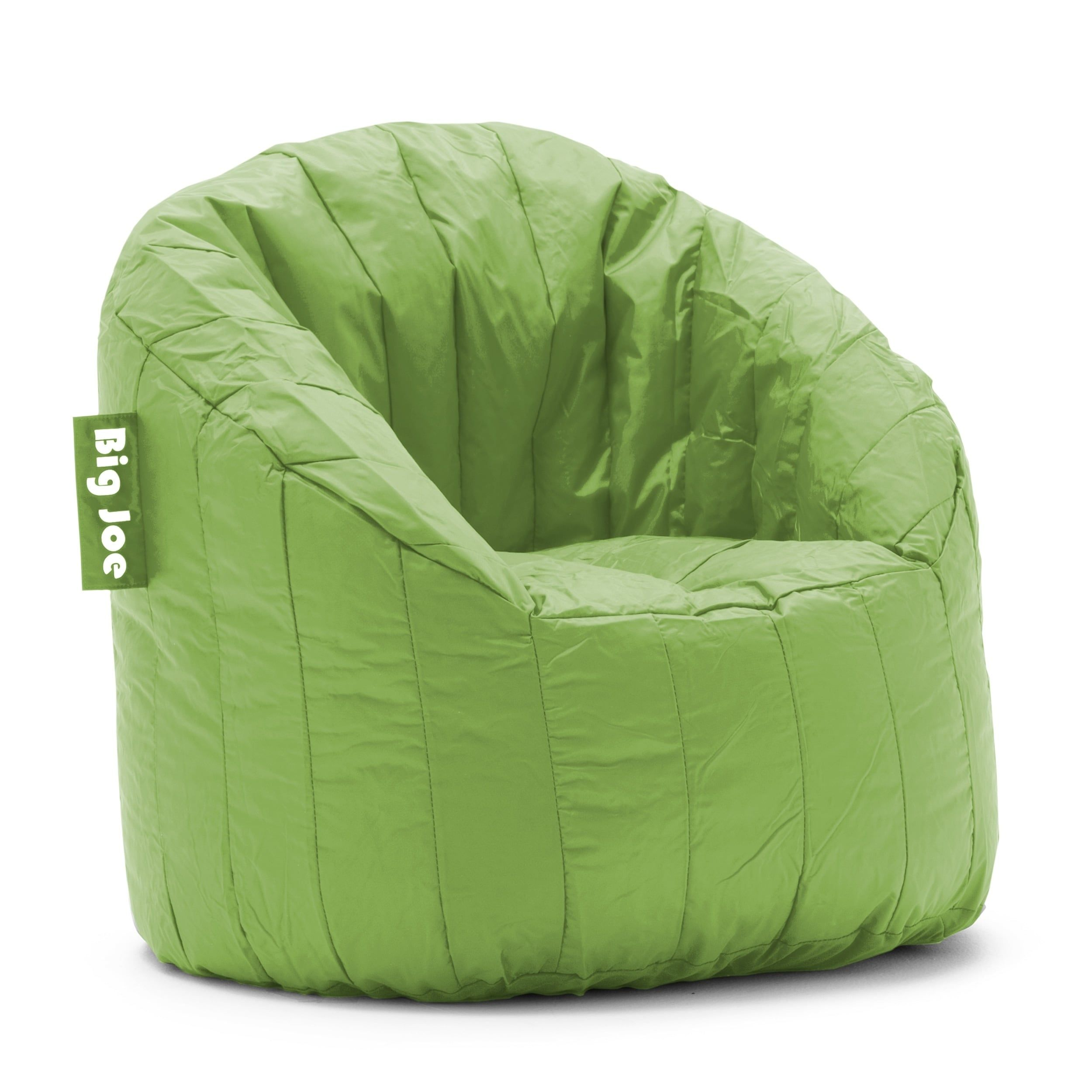 Big Joe Lumin Chair Multiple Colors Indoor Wicker Dining Chairs Bean Bag Solid Spicy Lime