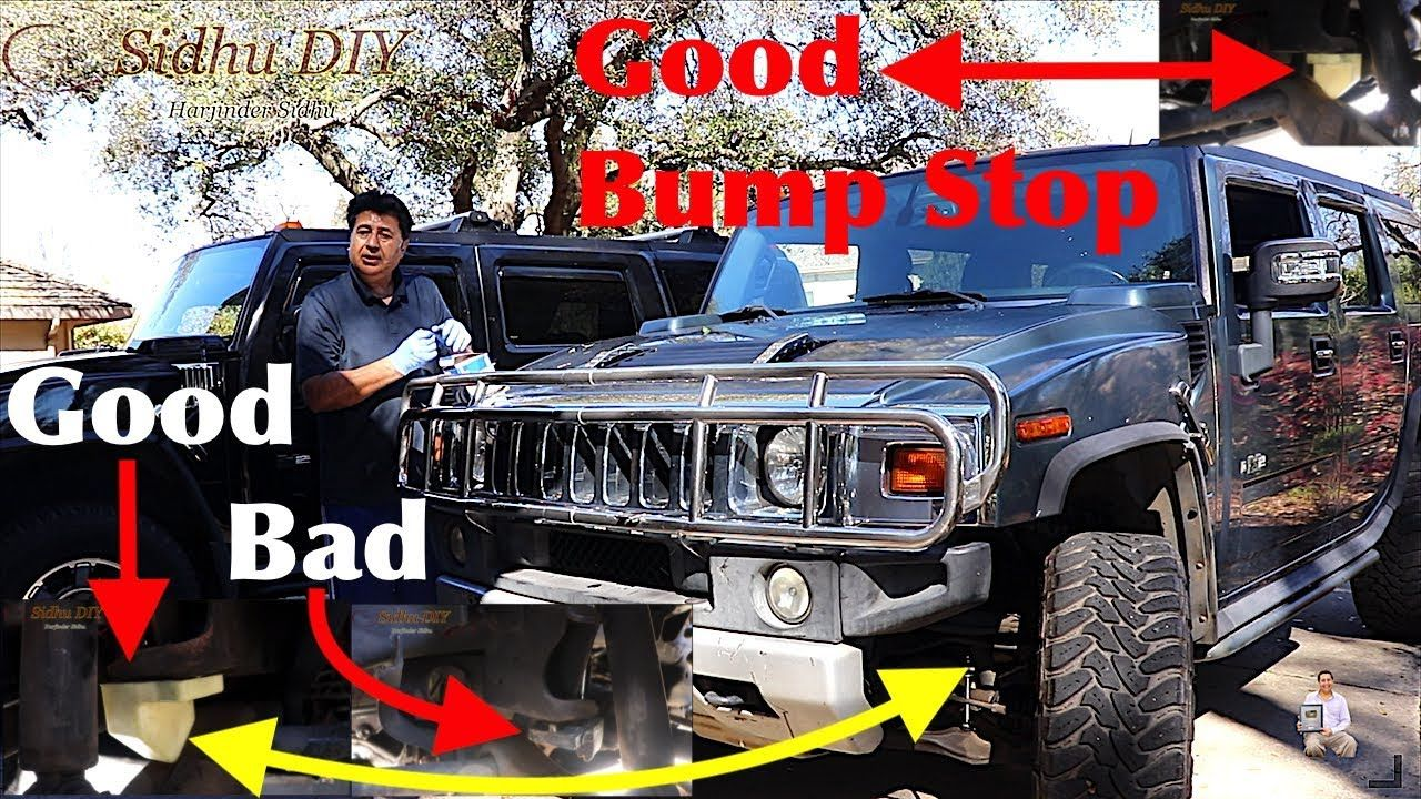 How To Replace Bump Stop On Hummer H2 Install Front Bump Stops On Hummer Hummer H2 Hummer Luxury Cars Range Rover