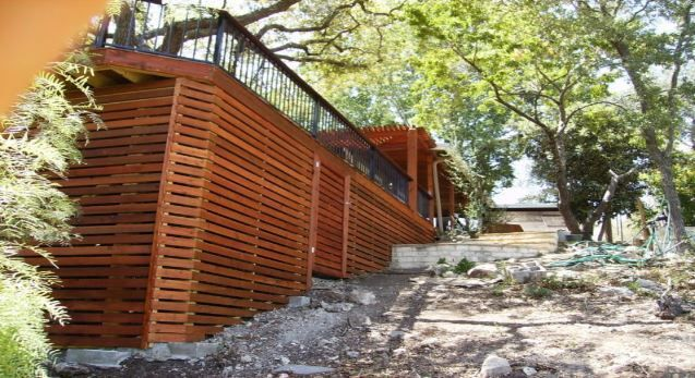deck skirting ideas other than lattice deck skirting on modern fence ideas highlighting your house with most shared privacy fence designs id=82394