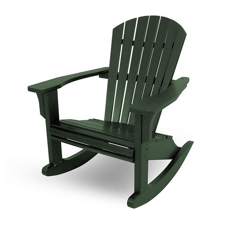 Seashell Adirondack Rocking Chairs Adirondack Rocking Chair