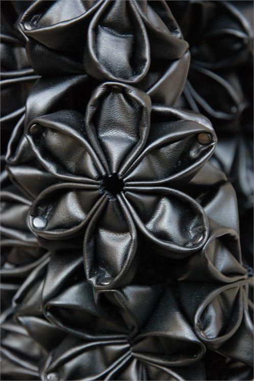 Noir Kei Ninomiya Fabric Manipulation Texture Fabric Manipulation