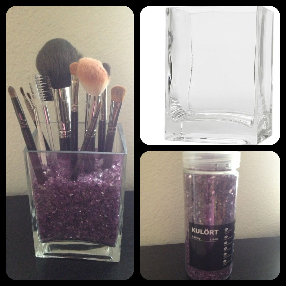 Made this makeup brush holder from ikea for 430 love it 1 made this makeup brush holder from ikea for 430 love it 1 reviewsmspy