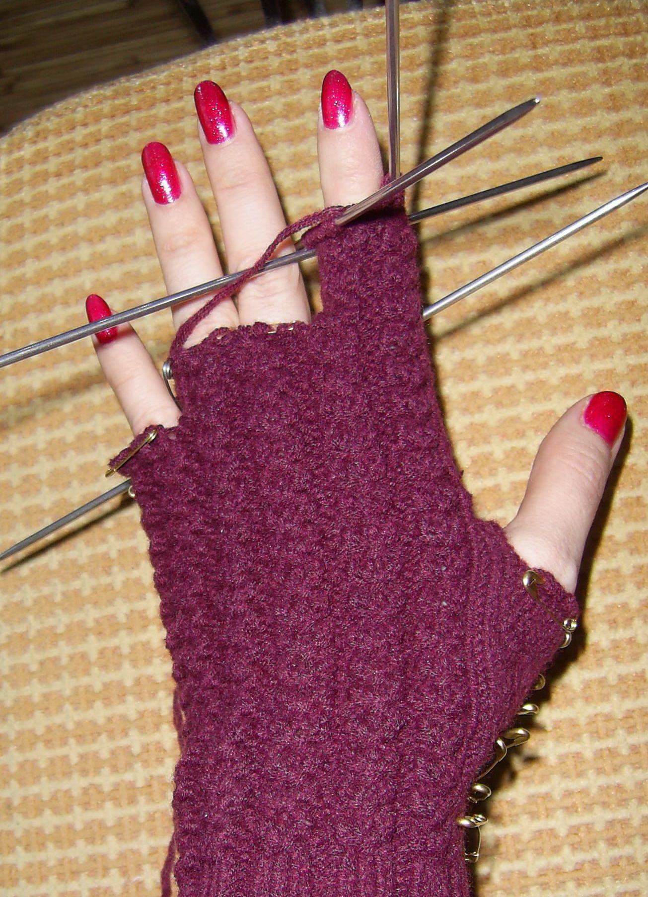 как связать перчатки спицами 8 инструкция вязание вязание