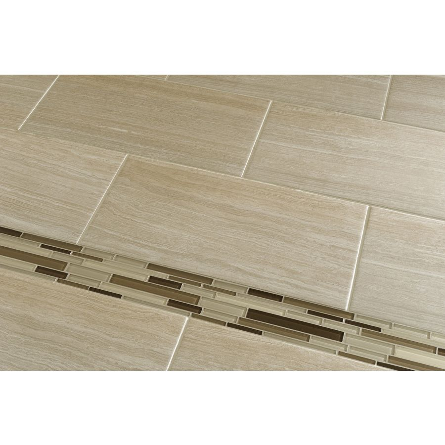 Shop Style Selections Leonia Sand Glazed Porcelain Indoor/Outdoor ...