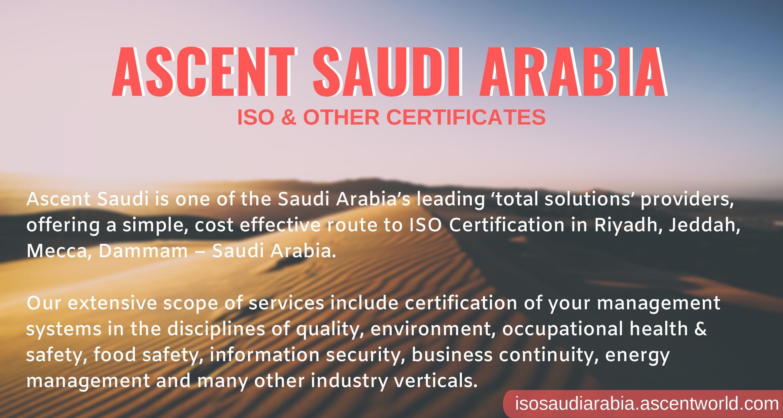 Ascent saudi is one of saudi arabias leading total