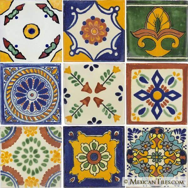 Decorative Mexican Tiles Decorative Tiles  Mexican Tile  Decorative Talavera Mexican Tile