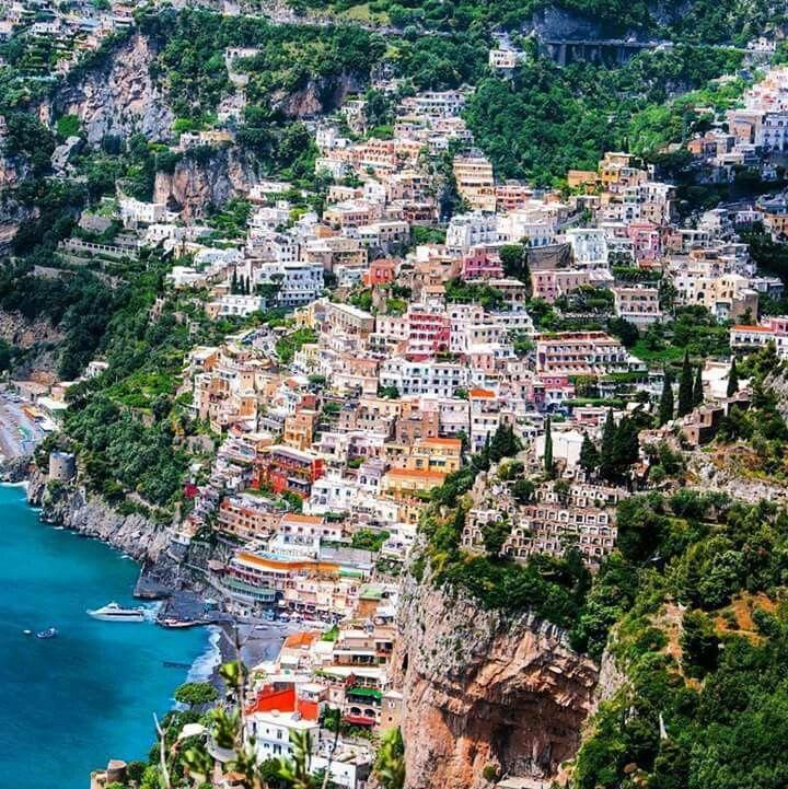 Positano,Amalfi Coast, Ravello in Italy.