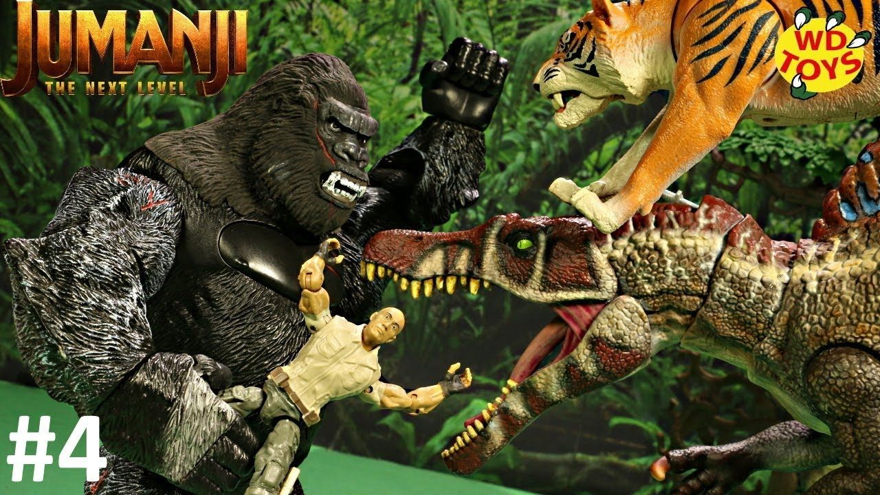 KING KONG VS SPINOSAURUS! Jumanji The Next level EP4