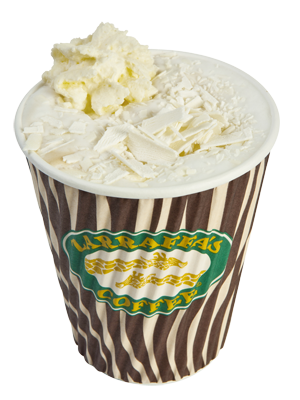 White Chocolate Mocha Espresso With White Chocolate Fudge And Hot Texturised Milk Topped With White Chocolat White Chocolate Fudge White Chocolate Mocha Food
