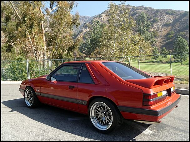 1986 Ford Mustang Gt 302 400 Hp 5 Speed Mecum Auctions Fox Body Mustang Mustang Gt Mustang