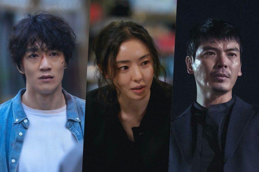 "Kim Rae Won, Lee Da Hee, And Kim Sung Oh Explain What To Anticipate In ""L.U.C.A.: The Beginning"""