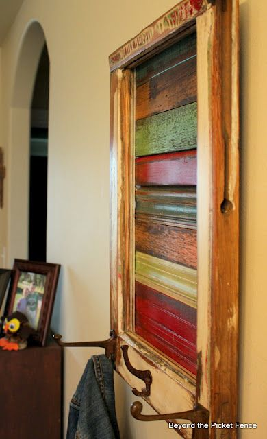 Beyond The Picket Fence Window Art Pallet Furniture Repurposed