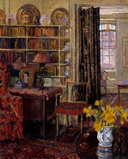 Ellen Dora Nicholson: View Of A Domestic Interior, N.d.
