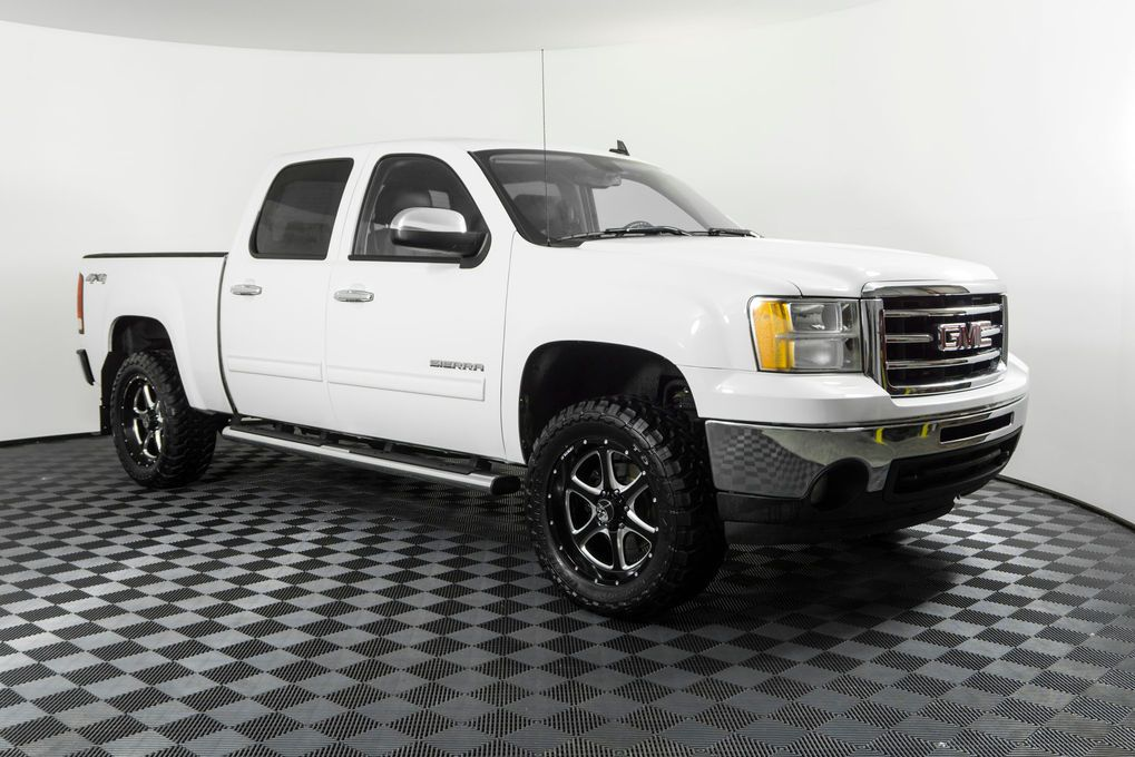 Used Lifted 2012 Gmc Sierra 1500 Slt 4x4 With 50 696 At Northwest
