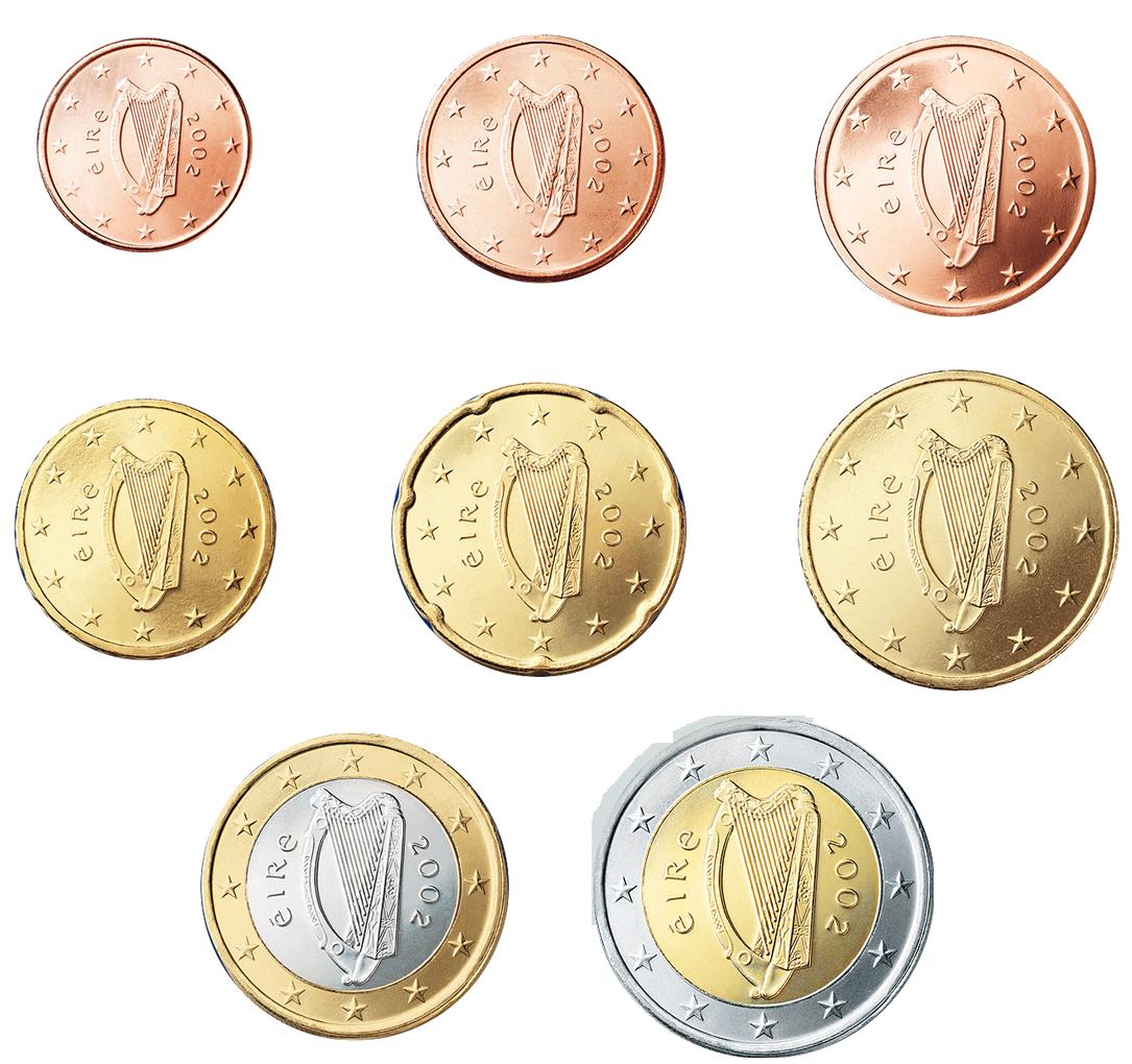 Euro Coins Irlanda Euro Coins Coins Euro