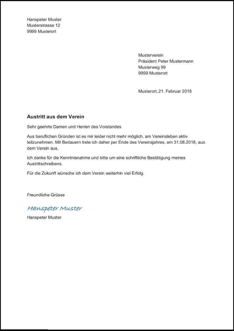 Experte Kundigung Sportverein Vorlage Word In 2020 Vorlagen Word Kundigung Schreiben Vorlagen