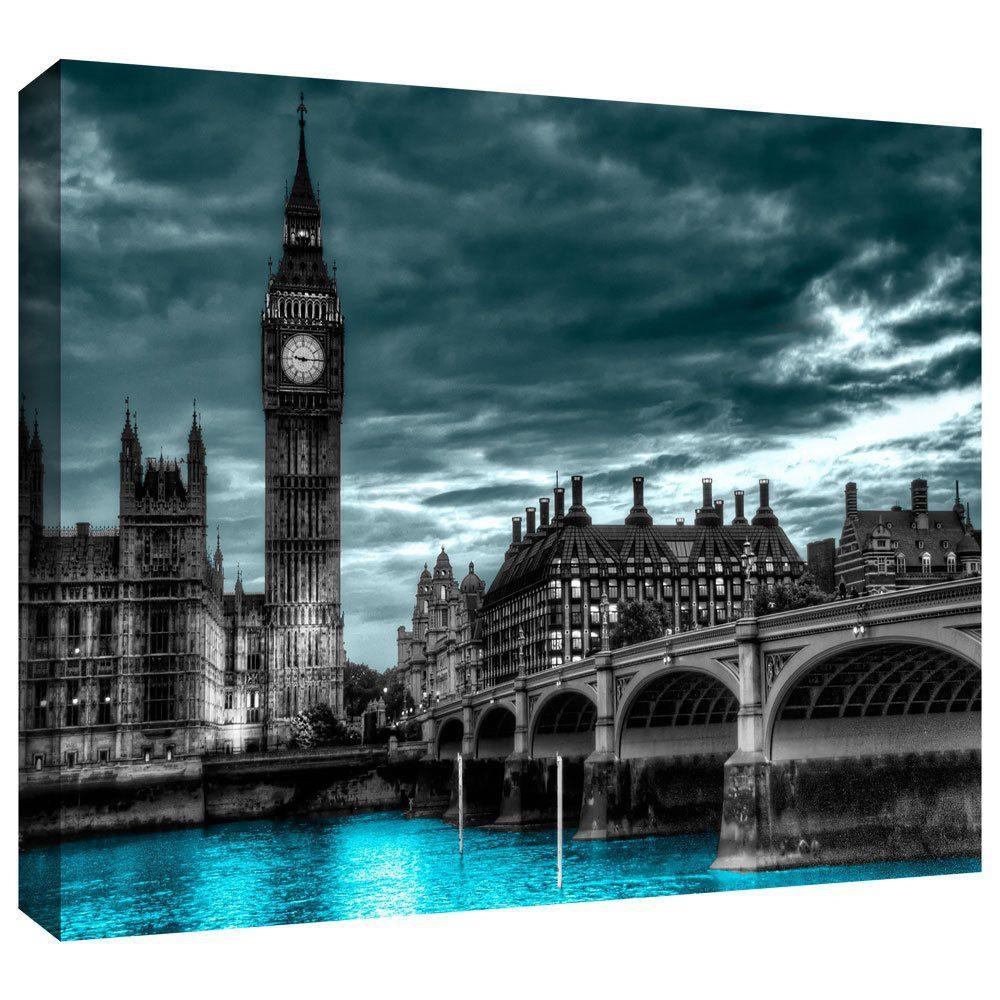 <li>Artist: Revolver Ocelot</li> <li>Title: London</li> <li>Product type: Gallery-wrapped canvas</li>