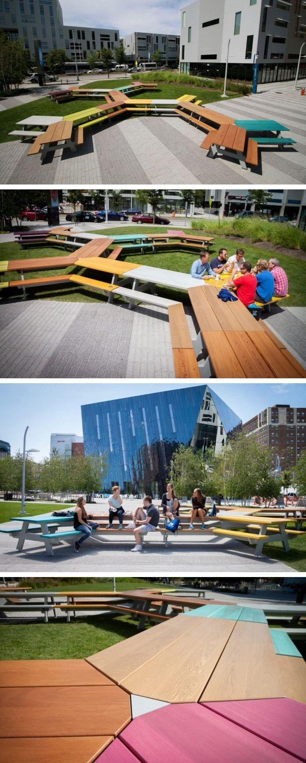 The Great Picnic By Mark Reigelman Ii Landscape Architecture Design Urban Architecture Parking Design
