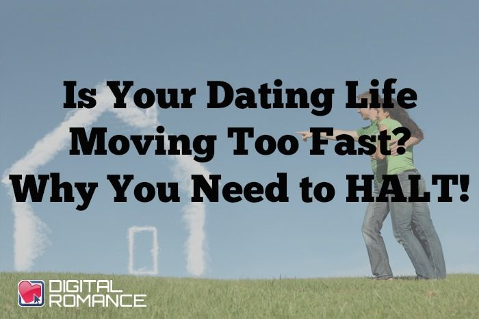 you are moving too fast
