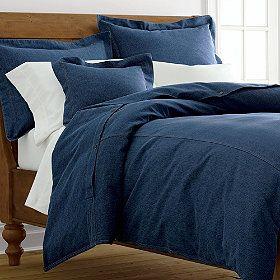 Denim Bedding Stonewashed Duvet Cover Comforter The Company