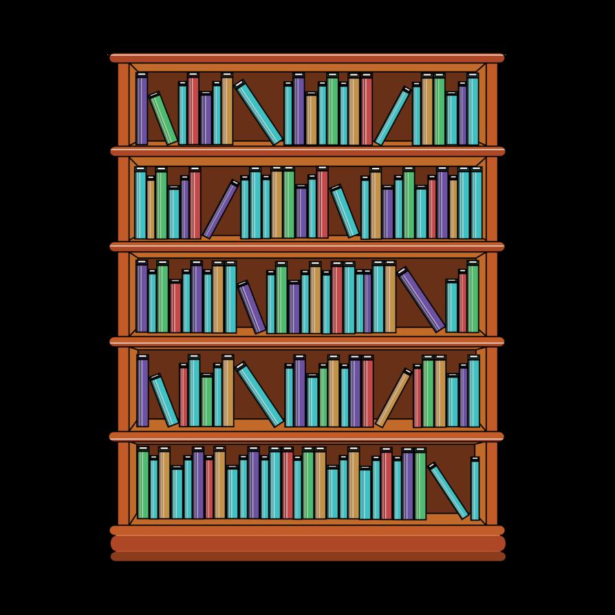 Free Png Downloads Konfest Bookshelf Art Bookcase Unique Bookcase