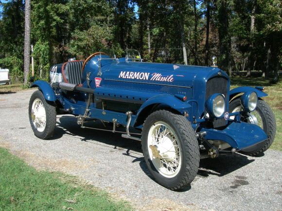 This Marmon Looks To Be A Recreation Of A Period Racing