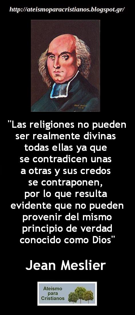 Ateismo Para Cristianos Frases Célebres Ateas Jean