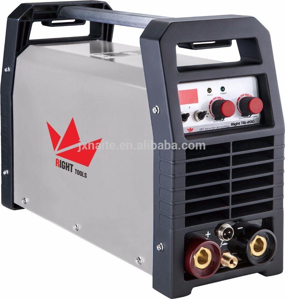 High duty cycle portable tig 200 amp unitor welding machine