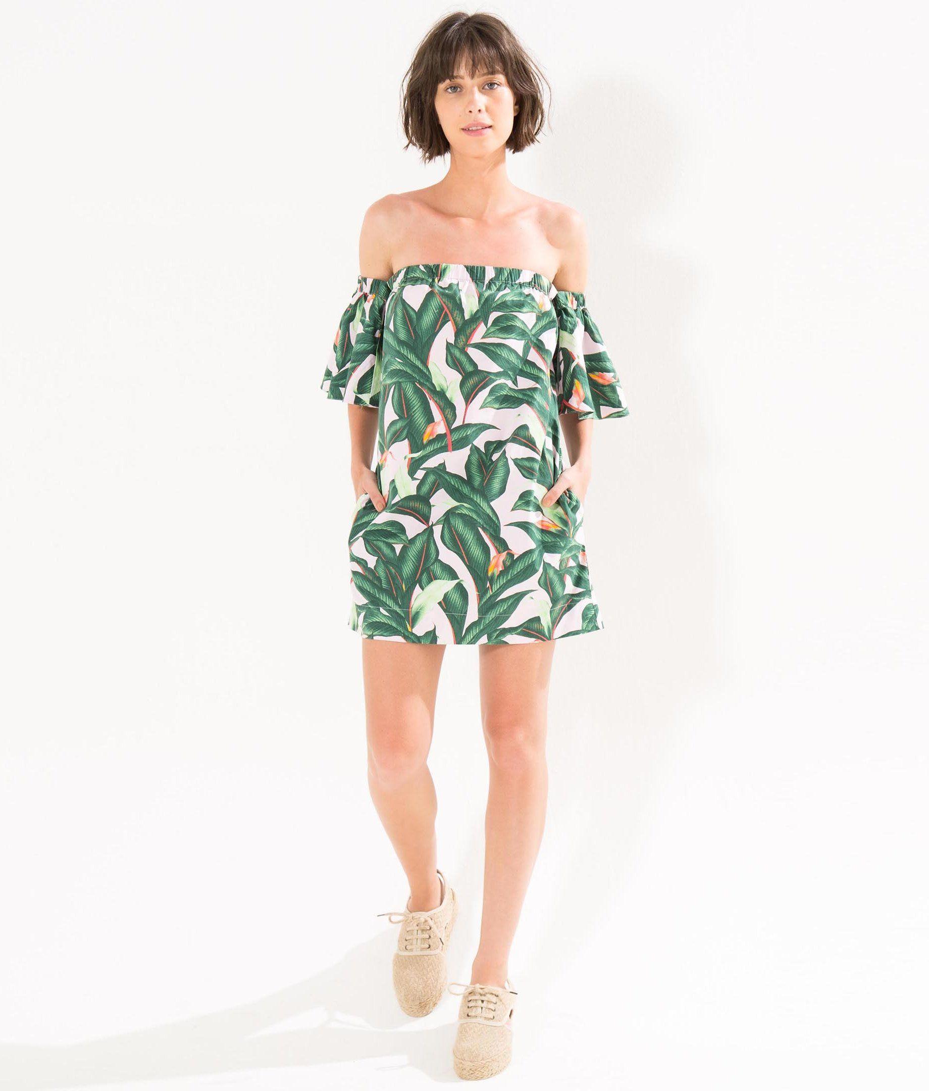 b5db3df6d vestido estrutura floresta linda   Roupas/Assessórios/Calçados ...