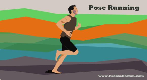 """Pose Running Method merupakan teknik lari bebas cidera, dapat mengurangi beban impak pada lutut saat berlari"