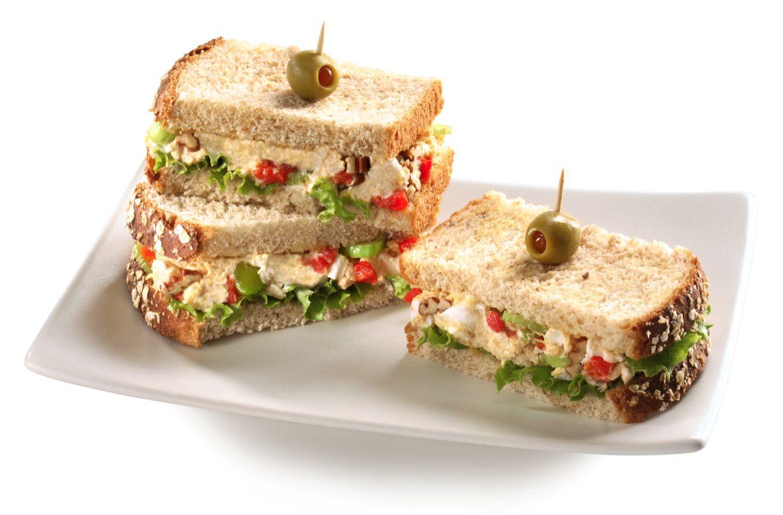 Sandwiches de pollo Philadelphia
