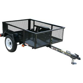 Carry-On Trailer 3-ft 6-in x 5-ft Wire Mesh Utility Trailer | Car ...