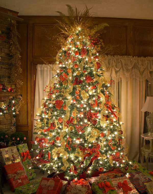 Pin by sandi lord on christmas decor   Red, gold christmas ...