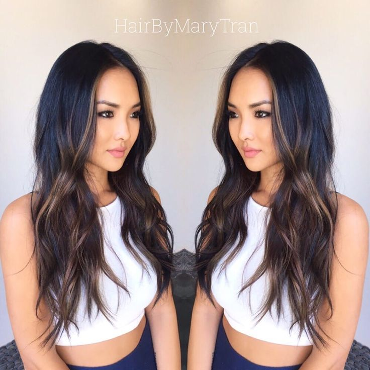 Image result for asian ash brown balayage hair pinterest chocolate subtle ombre and blended haircut on asian hair yelp urmus Images