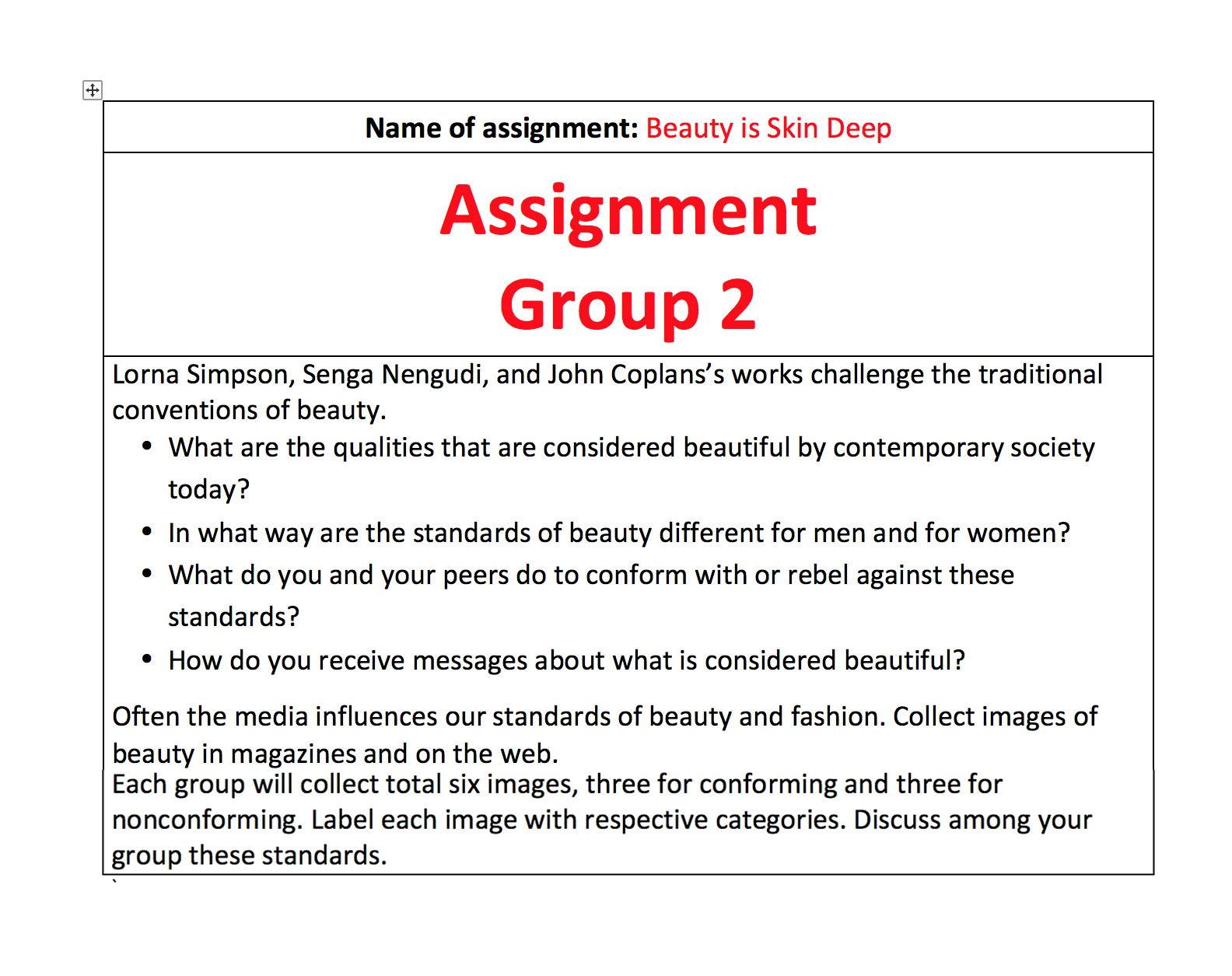assignment 3 your assignment for this week make sure you