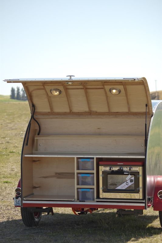 Teardrop Trailer With Bathroom: The 58 Heald ‹ Overland Teardrop Trailer & Adventures