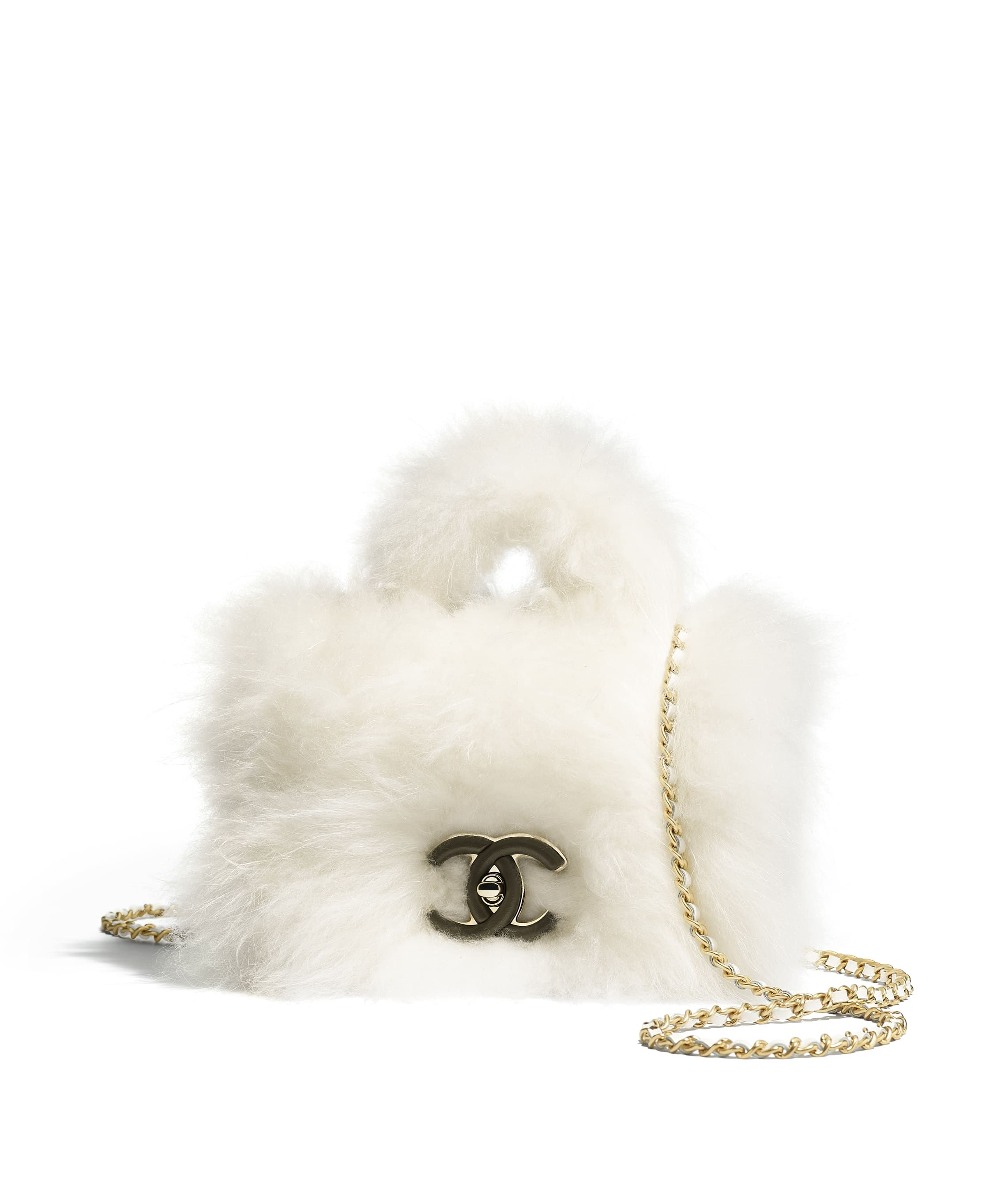 1000cf65d0 Chanel - Métiers d'Art Paris-Hamburg 2017/18 | White shearling ...