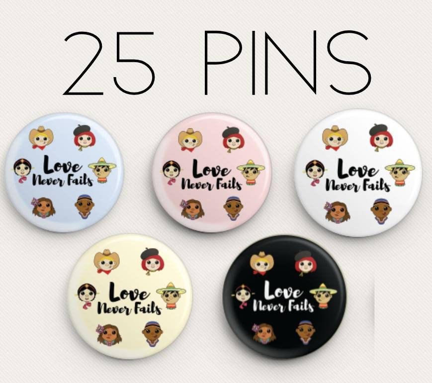souvenirs Jw gifts Jw shop ENGLISH Love Never Fails International Convention of Jehovahs Witnesses 2019 50 Lapel Buttons Pins assembly gifts