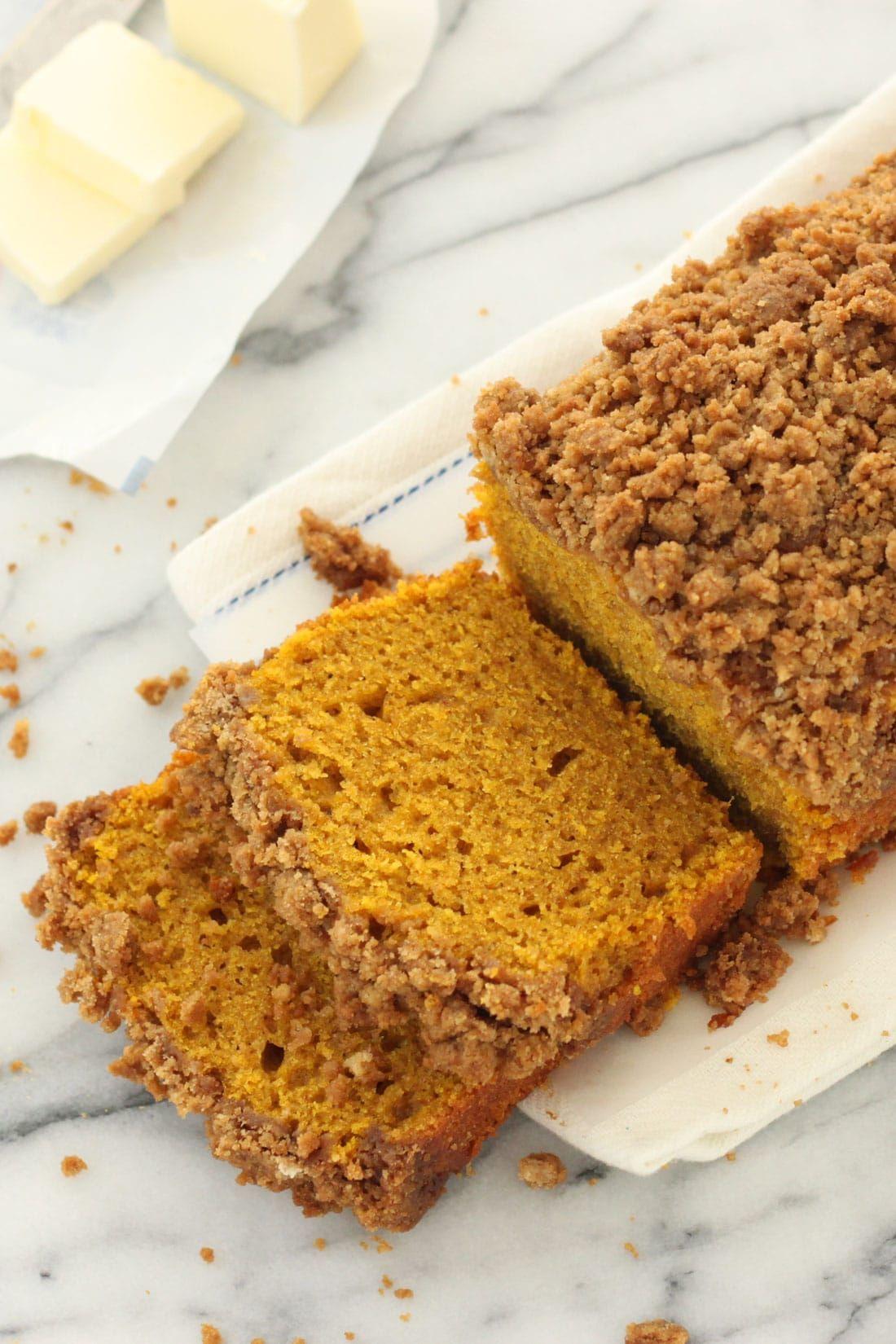 Cinnamon crunch pumpkin bread miss jones baking co