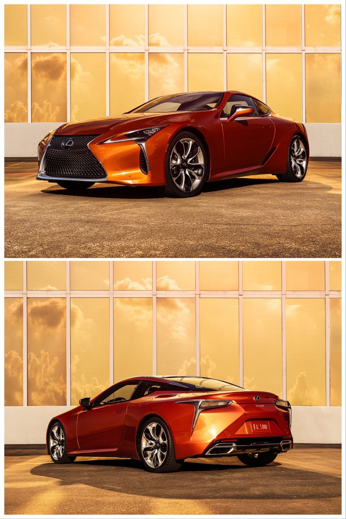 Limited Edition Lexus Lc Convertible And Striking Orange Paint Show Off Sparkle In 2020 Lexus Lc Lexus Convertible