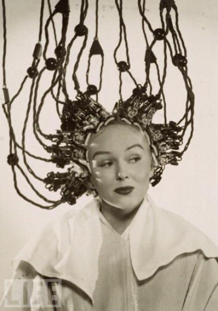 vintage everyday Vintage Photos of Hair Dryers hair by