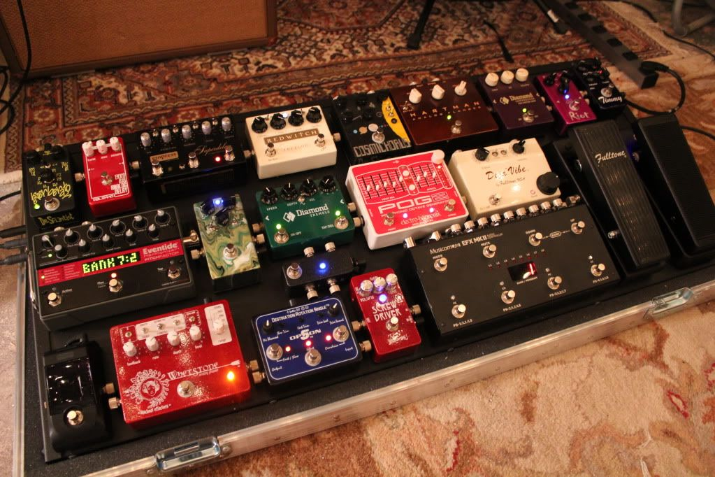 another awesome musicom board #pedalboard